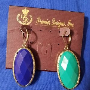 Premier Designs Cece reversible earrings